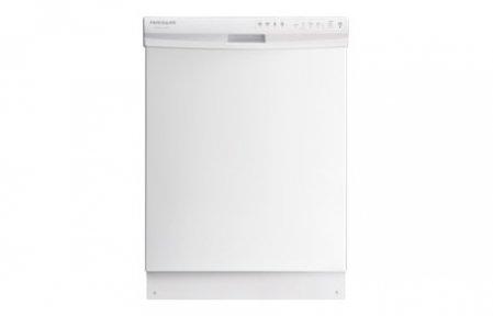 """Frigidaire Gallery 24"""" Tall Tub Built-In Dishwasher White FGID2466QW"""
