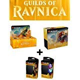 Magic MTG Guilds of Ravnica Booster Box + Bundle + Both Planeswalker Decks