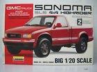 GMC Sonoma SLS 4x4 Highrider 1/20 Scale Model Kit