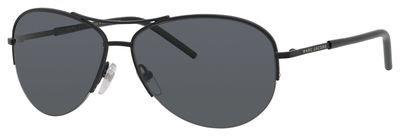 Marc Jacobs Marc 61/S 010G Matte Black AH gray polarized lens Sunglasses