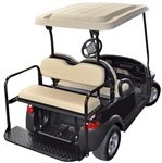 Club Car Precedent Golf Cart Rear Flip Flop Seat Kit - Color: BUFF