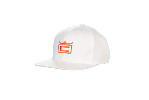 Cobra Golf 2019 Kid's Crown Snapback Hat (White-Vibrant ()