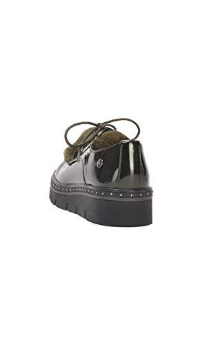 Style Xti Oxford Femme Verni Kaki Chaussures 5601qB