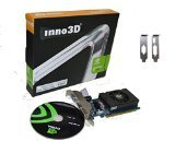 Inno3D Nvidia Geforce GT 730 LP 4GB DDR3 HDMI DVI VGA 128 Bit Video Graphics Card, PCI Express x16 HD 1080P Low Profile