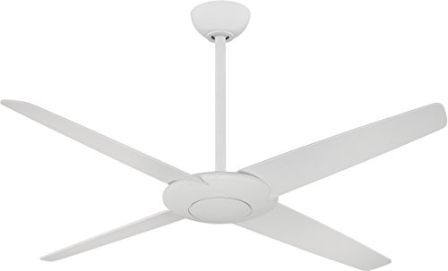 Minka-Aire F738-WHF, Pancake, 52 Ceiling Fan with Remote Control, Flat White