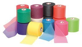 Mixed Colors Bulk Prewrap for Athletic Tape - 12 Rolls, Rainbow by IthacaSports by Mueller Sports Medicine