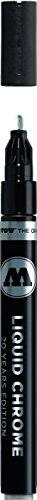 Molotow ONE4ALL Acrylic Paint Pump Marker, 2mm, Liquid Chrome, 1 Each (703.102)