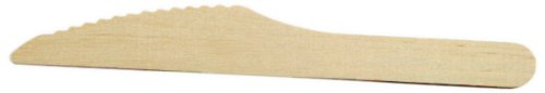 PackNWood 210CVB2 Wooden Cutlery - Knife - 6.5'' - 2000 per case by PacknWood