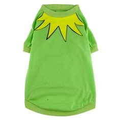 Kermit The Frog Dog Costume (Disney Kermit The Frog Pet Dog Shirt Costume (XS))