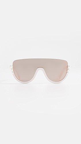 cd4d90ce059 Fendi Women s Bottom Frame Imitation Pearl Sunglasses – Max One ...