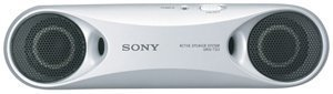 Sony SRST33SILVER Personal Travel Speakers (Silver)