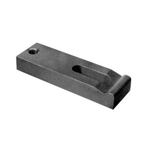TE-CO Tapped End Clamp, Black Oxide Finish, 3'' Long x 3/8'' Stud Size