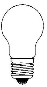 BULB STANDARD 24V 25W, 2 per - Bulb Base Ancor Standard