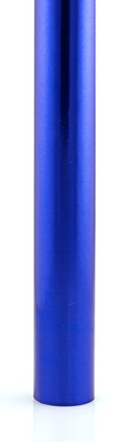 Hygloss Products Metallic Foil Paper – Premium Gift Wrap Roll – 26 Inch x 25 Feet, Dark Blue