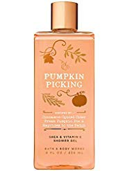 - Bath and Body Works PUMPKIN PICKING Shea and Vitamin E Shower Gel 8 Fluid Ounce