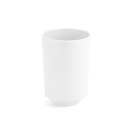 Umbra Step Bathroom Tumbler, White