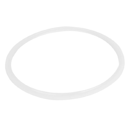 Rubber Seal Ring Replacement for Pressure Cooker 25cm x 27cm White
