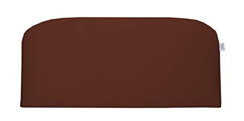 (RSH Décor Indoor ~ Outdoor Sunbrella Canvas Terracotta Foam Loveseat Settee ~ (38x17x3))