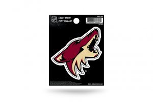 Rico Industries NHL Arizona Coyotes Die Cut Team Logo Short Sport Sticker
