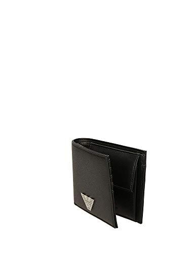 Armani Nero Emporio Wallet Business Bi Fold Mens 7gYybfvI6