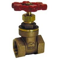 """1-1/2"""" BRS Gate Valve from MUELLER INDUSTRIES"""