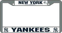 Rico MLB Yankees EZ View Chrome Frame, 15 x 8, Logo ()
