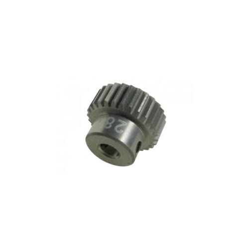 3RACING Integy RC Model Hop-ups 3RAC-PG6428 64 Pitch Pinion Gear 28T (7075 w/Hard Coating)