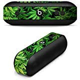 MightySkins Skin for Beats by Dr. Dre Pill Plus - Weed | Protective, Durable, and Unique Vinyl Decal wrap Cover | Easy to Apply, Remove, and Change Styles | Made in The USA