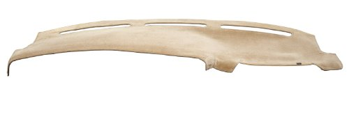 DashMat VelourMat Dashboard Cover Cadillac DeVille (Plush Velour, Beige)