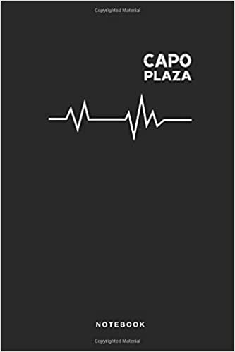 Amazon.com: Capo Plaza - Notebook: Taccuino Journal - Campo ...