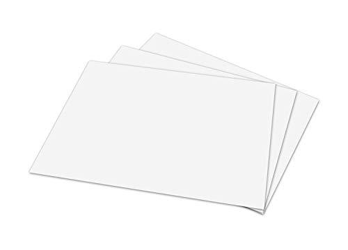 White Memo Sheets, 20lb Paper, 500 Sheets Per Pack (5 x 7)