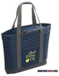 Strand Snow Canvas Tote Bag 50 QUANTITY 9 38 EACH PROMOTIONAL PRODUCT BULK BRANDED With YOUR LOGO CUSTOMIZED