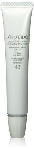 Shiseido Urban Environment Tinted UV Protector Broad Spectrum SPF 43, No. 3 for Face, 1.10 Ounce