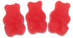 Raspberry Gummi Bears - Gummy Bears Red Raspberry 2.5 Pounds