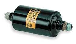Parker Hannifin 305 Gold Label Steel Liquid Line Filter-Drier, 5/8'' SAE Flare Fitting, 3'' Shell Diameter, 10.19'' Length