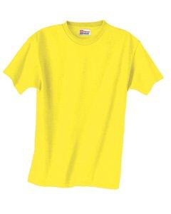 Hanes Boys' TAGLESS&reg, ComfortSoft&reg, Crewneck T-Shirt,Medium, Yellow