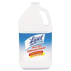 ** Disinfectant Heavy-Duty Bath Cleaner, Lime, 1 gal. **