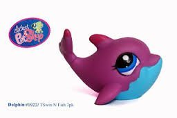 Amazoncom Littlest Pet Shop Dolphin 1922 Everything Else
