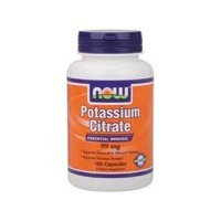 Now Foods Potassium Citrate mg Capsules 99, 180-Count