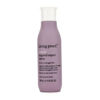 Living Proof Restore Targeted Repair Dry or Damaged Hair Cream for Unisex, 4 Ounce
