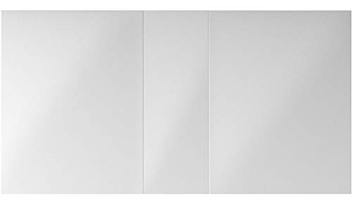 Virtu J-MED01A50 Confiant Mirrored Medicine Cabinet Recessed or Surface Mount, 50'
