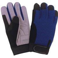 Diamondback Leather (Diamondback Gv-965662b-xxl Synthetic Leather Palm Glove, Xxl)