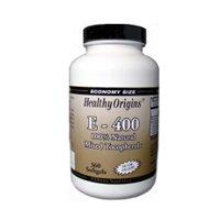 Healthy Origins Vitamin E 400Iu 360 Sgel by Healthy Origins