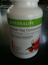 Herbalife Raspberry Tea 4 pk Special 3.53 oz