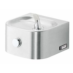 Elkay Soft Sides Soft Sides Water Fountain, Wall Hung, Stainless Steel, EDFP210C