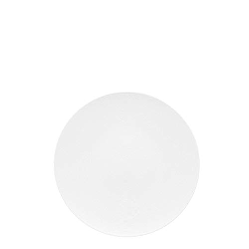 (Rosenthal Thomas Loft White Salad Plate - Modern Tableware Made of Porcelain for Salad, Dessert or Pie - Unique Design with Concentric Lines - 8.5 Inch )
