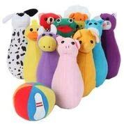 Mail Order Direct Plush Bowling Set]()