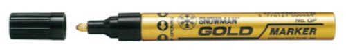 Gold Paint Marking Pens for Crafts or Stained Glass / Dozen