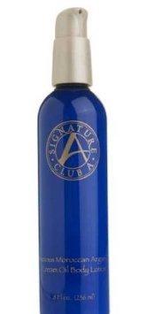 Signature Club a By Adrienne Precious Moroccan Argan Oil Cream Oil Body Lotion, 8 oz