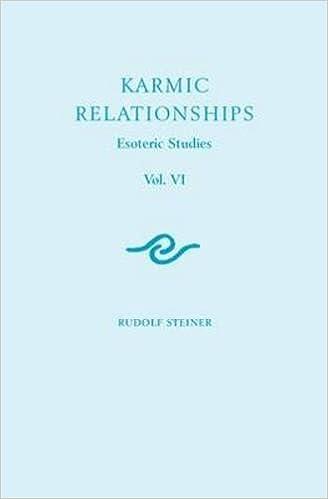 Karmic Relationships 6: Esoteric Studies (Cw 235, 236, 240